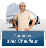 Location de Camion avec Chauffeur à Saint-Hyacinthe